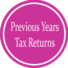 Previous year's tax returns